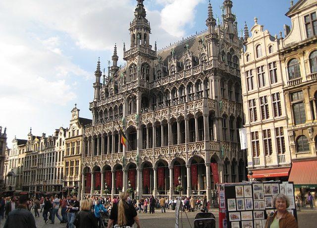 Bruksela - symbol Europy pachnący czekoladą