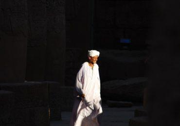Wybrane zdjęcie: Egipcjanin w Świątyni w Karnaku
