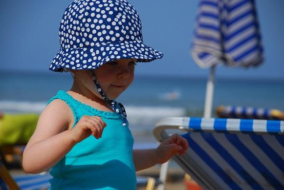 Pierwszy wyjazd z dzieckiem nad morze