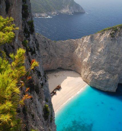 Najpiękniejsza z plaż Grecji i jedna z najpiękniejszych na świecie!