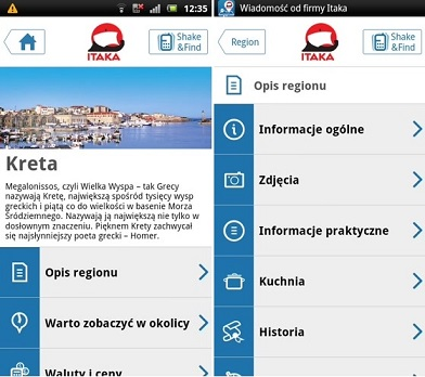 Aplikacja biura Itaka - nasza ocena