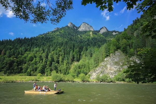 Weekendowy wypad w Pieniny - polecana trasa w górach