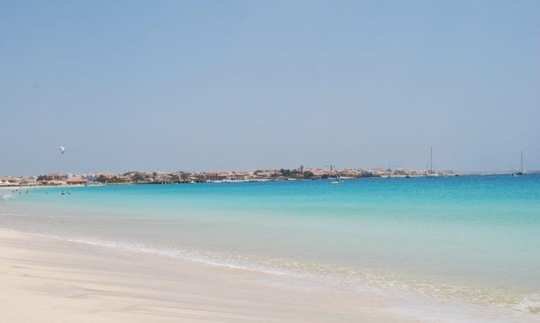 Sal, Wyspy Zielonego Przylądka, rajska plaża