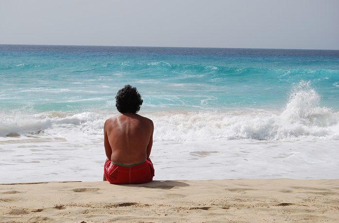 Nieznajomy na plaży...