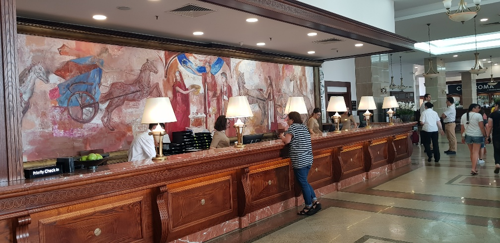 Hotel, recepcja