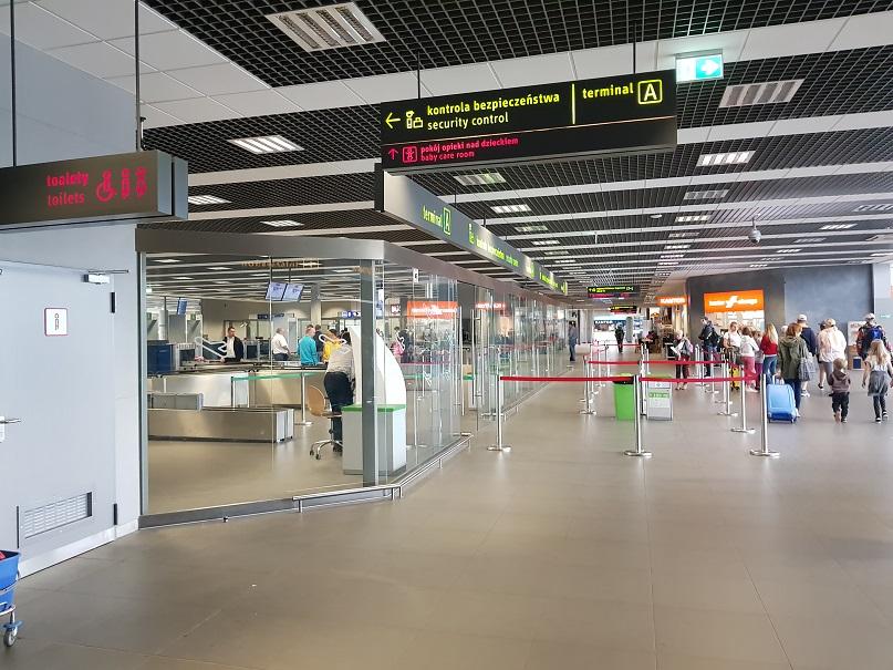 Kontrola bezpieczeństwa, lotnisko
