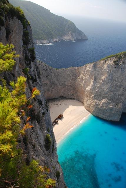 Grecja, Zakynthos, Zatoka Wraku