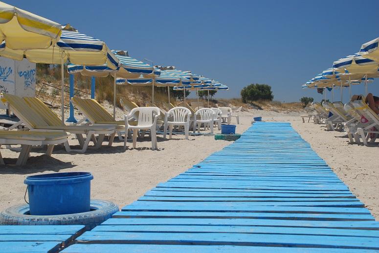 Grecja, Kos, podest, plaża