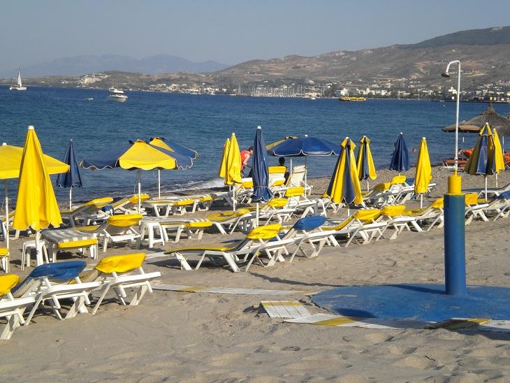 Grecja, Kos, plaża