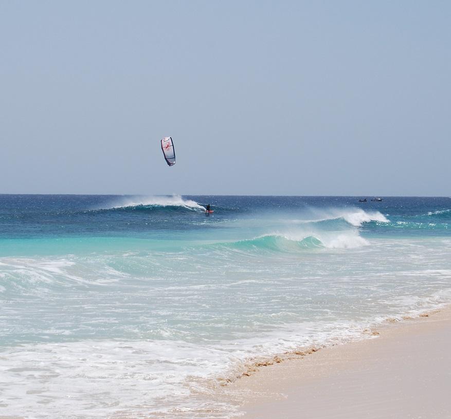 Wyspy Zielonego Przylądka - nauka Kitesurfingu