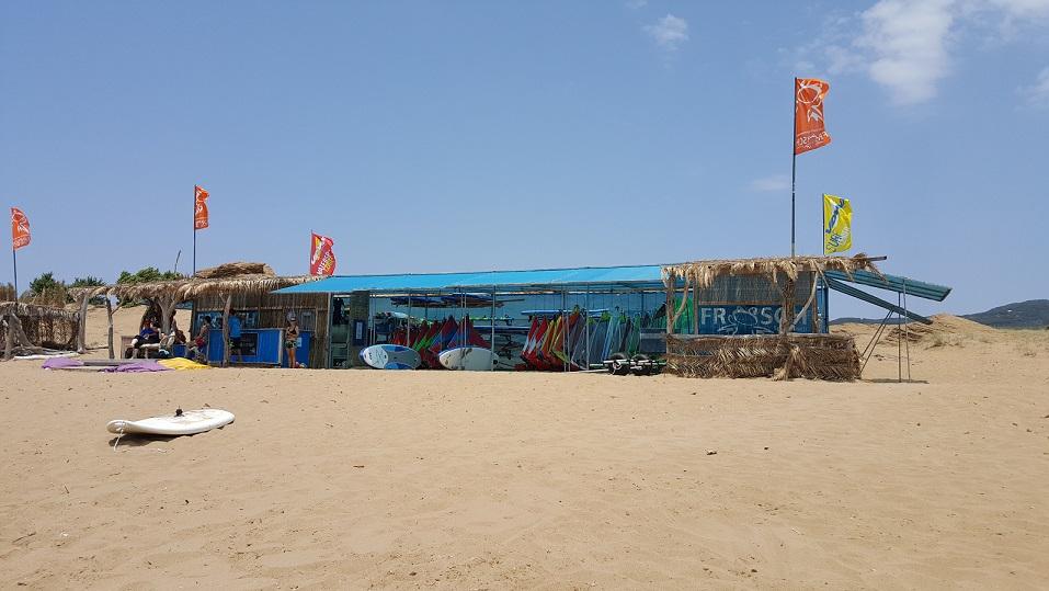 Szkoła, windsurfing, Korfu