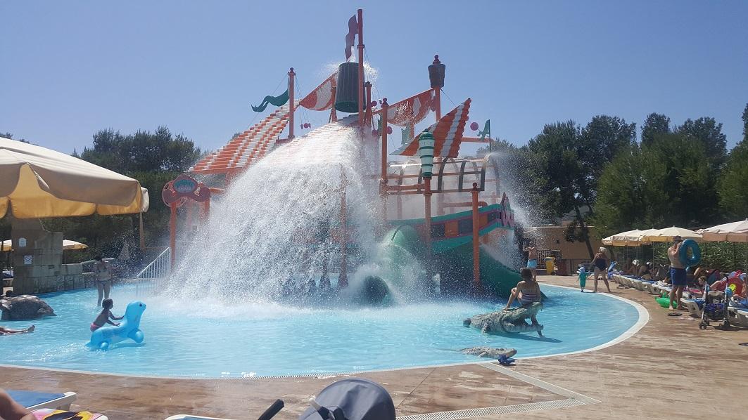 Aquapark, hotel Cala Blanca, Ibiza