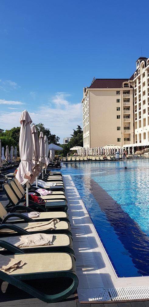 Ręczniki plażowe, hotel