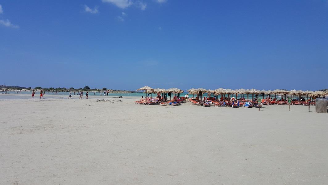 Kreta, Elafonisi, plaża