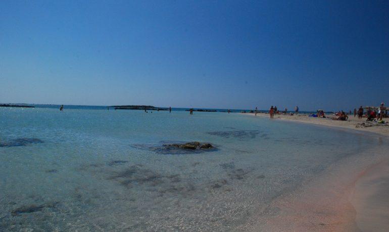 Kreta, Elafonisi,
