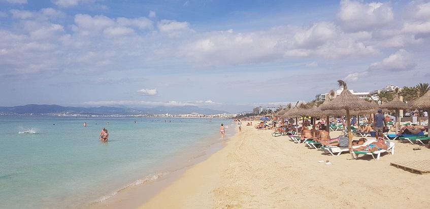 Majorka, plaża, wakacje