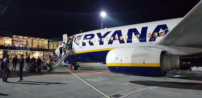 Ryanair, pasażerowie