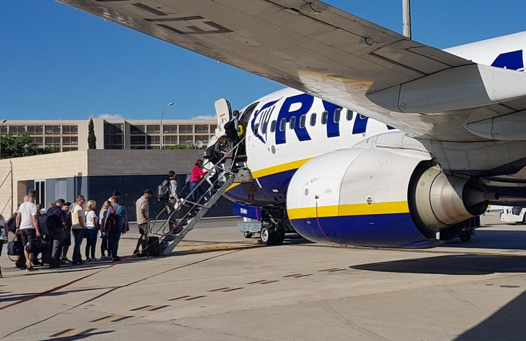 Ryanair, overbooking
