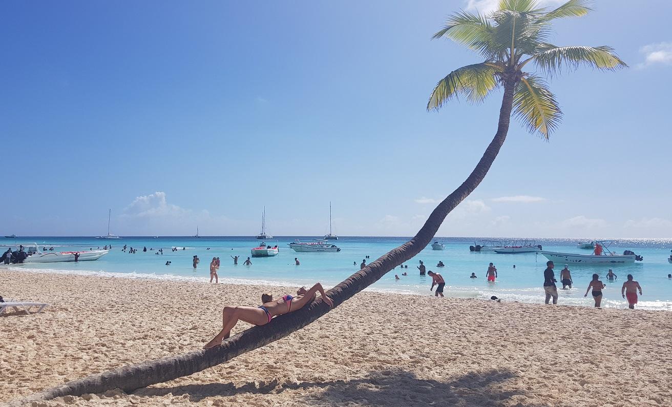 Dominikana - Saona - raj na ziemi