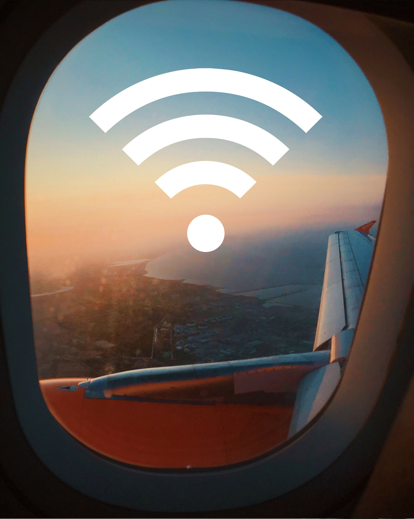 Samolot, internet