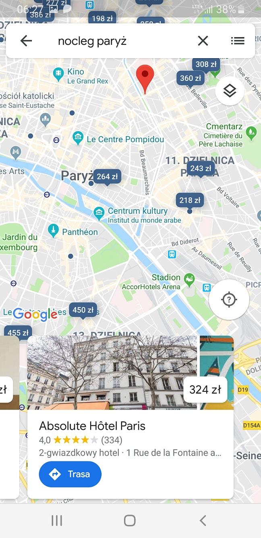 Jak znaleźć nocleg w okolicy - Google Maps służy pomocą