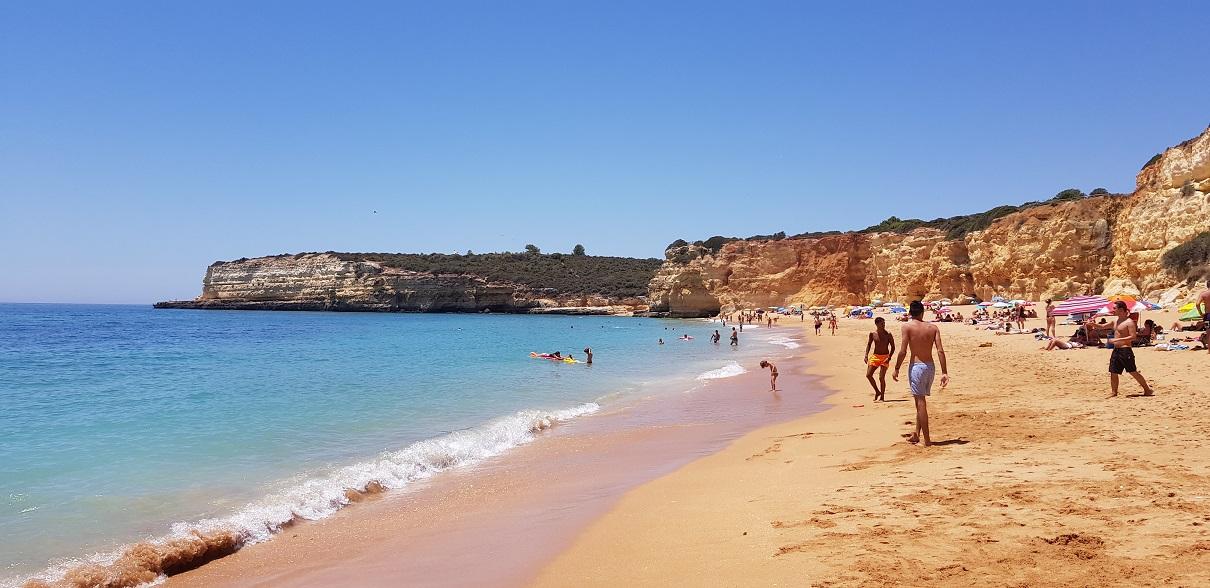 Algarve, Portugalia, klif