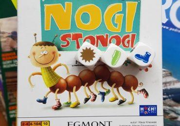 Polecana gra dla dzieci - Nogi Stonogi