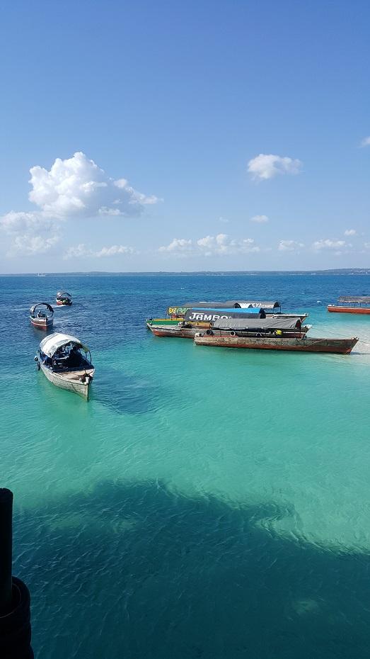 Zanzibar, łódeczki