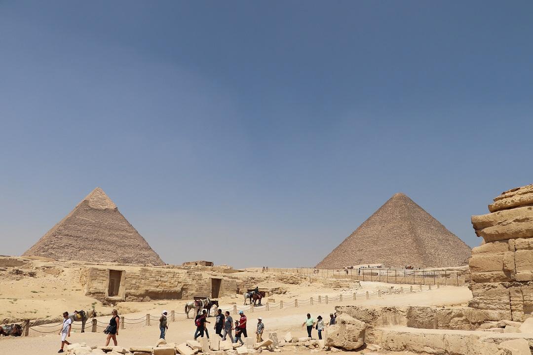 Egipt - Giza piramidy
