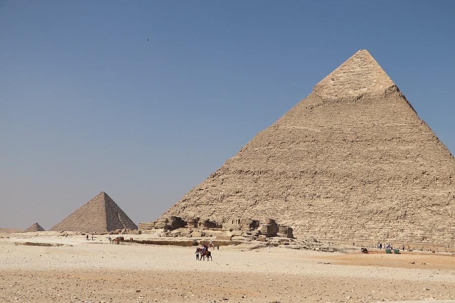 Egipt, najważniejsze zabytki - Piramidy w Gizie