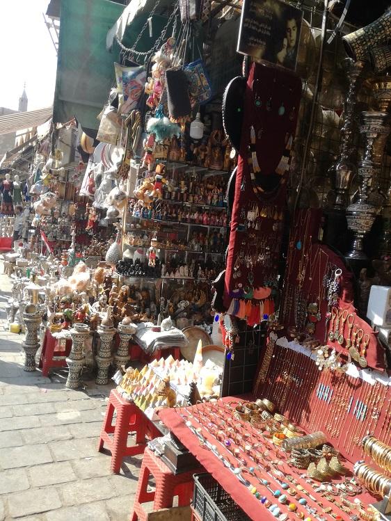 Egipt - bazar w Kairze