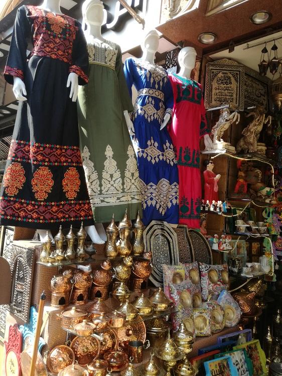 Pamiątki na targu w Egipcie