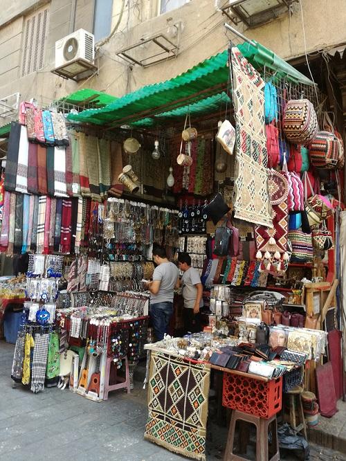 Egipt - targ w Kairze - tutaj nie wypada się nie targować