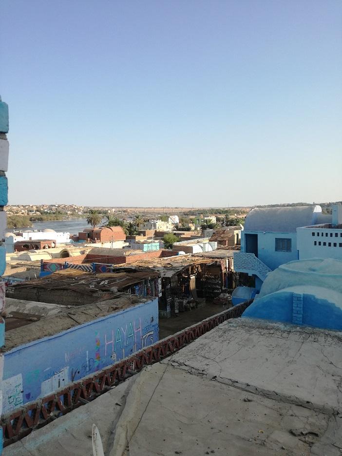 Egipt - wioska nubijska