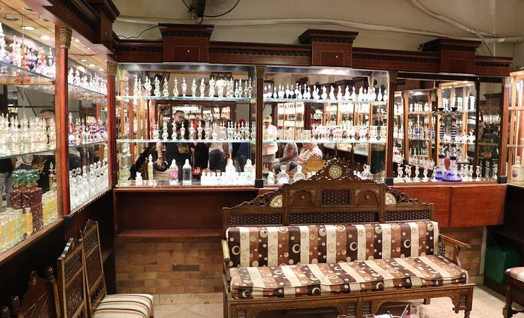 Egipt - przepiękna perfumeria