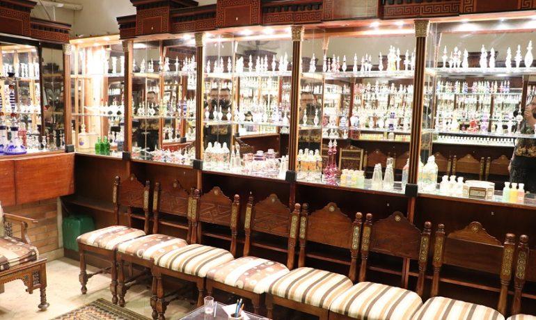 Egipt - przepiękna perfumeria - wybór może przyprawić o zawrót głowy