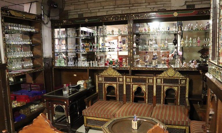 Egipt - przepiękna, tradycyjna perfumeria