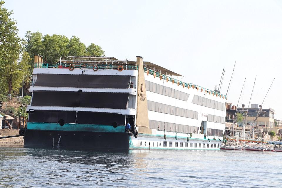 Egipt - rejs po nilu - statek wycieczkowy
