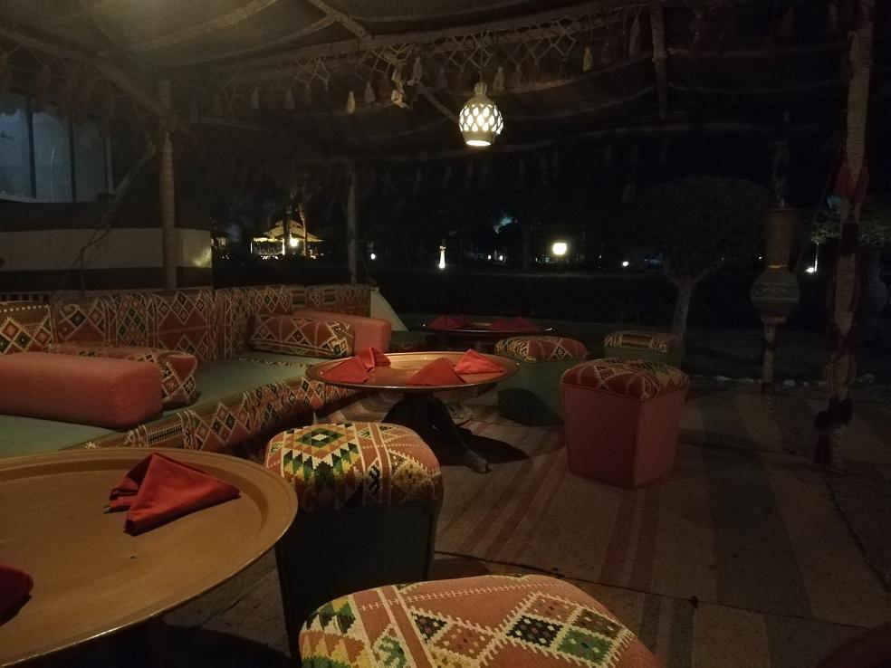 Egipt restauracja w stylu beduińskim