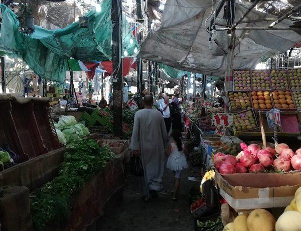Egipt - targ w Hurghadzie - stragany