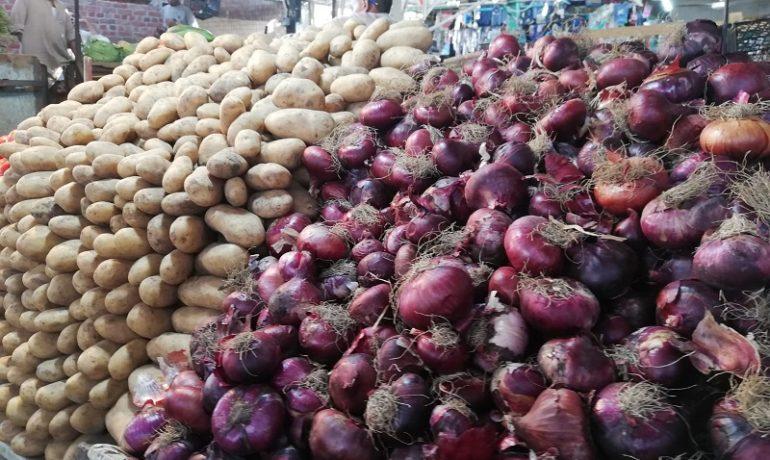 Egipt - targ w Hurghadzie - warzywa