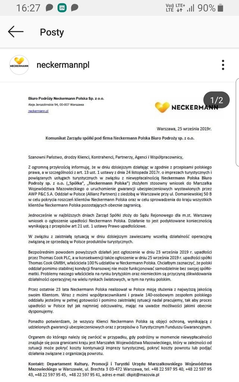Lista Prezesa Neckermann Polska