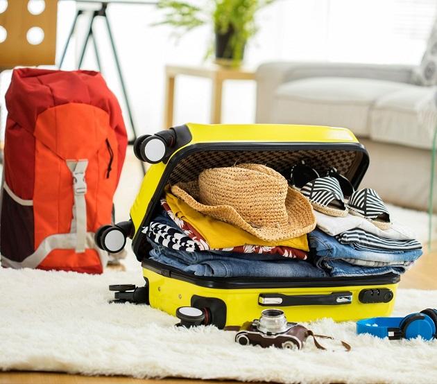 bagaż podręczny, pakowanie