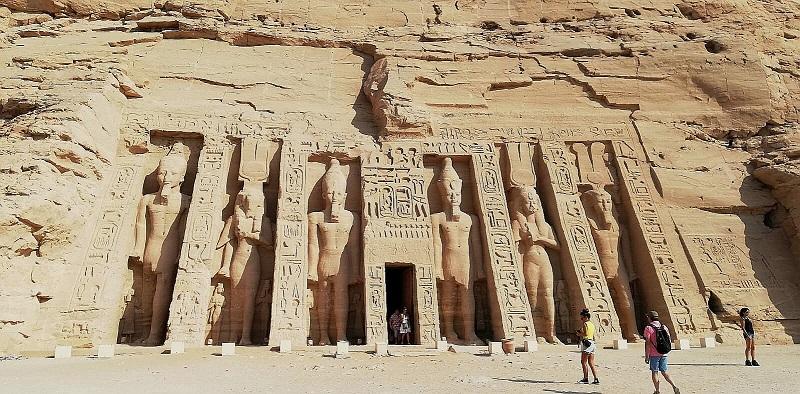 Egipt, świątynia, Au Simbel
