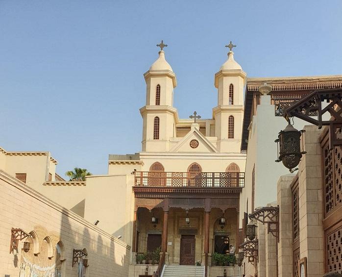 Egipt, Stary Kair, Kościół Zawieszony
