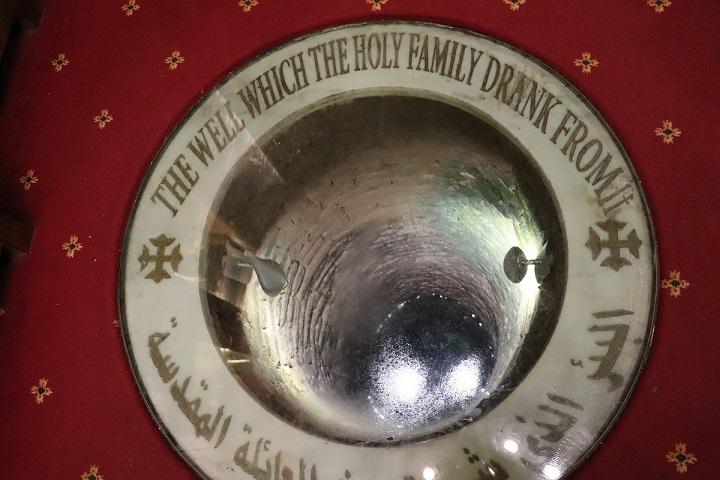 Egipt, studnia z której wodę piła Święta Rodzina