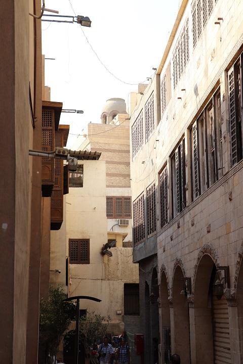 Egipt, Stary Kair, uliczka