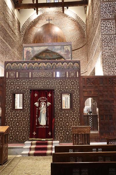 Egipt, Stary Kair, Kościół Św. Sergiusza
