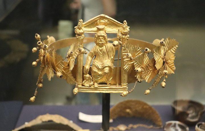 Egipt, Kair, muzeum, biżuteria