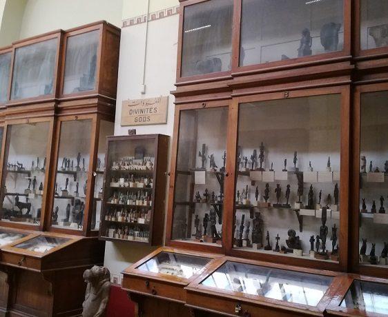 Starożytne eksponaty - Egipt, kairskie muzeum